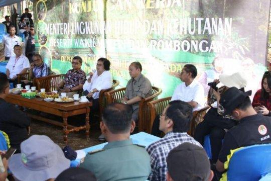 Pemerintah anggarkan rehabilitasi hutan dan lahan Rp2,7 triliun