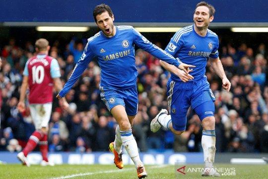 Hazard sebut Lampard punya kualitas pelatih terbaik di dunia