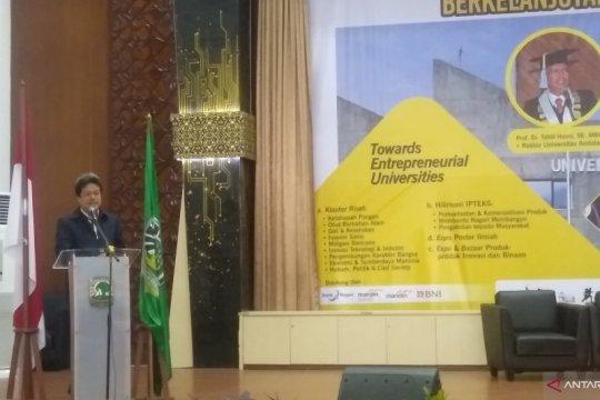 Konferensi Hilirisasi Riset di Unand bahas 1.300 karya tulis ilmiah