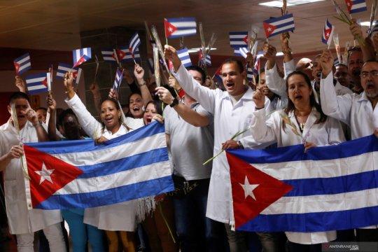 Kuba mengirim dokter ke Afrika Selatan untuk perangi virus corona