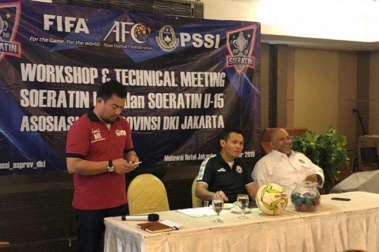 Asprov PSSI Jakarta siap gelar Piala Soeratin U-15 dan U-17