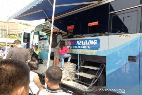 Polda Metro Jaya buka lima gerai SIM Keliling