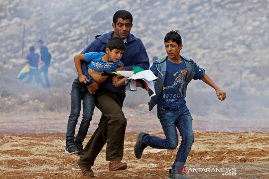 Pasukan Israel bentrok dengan warga di Silwan-Palestina