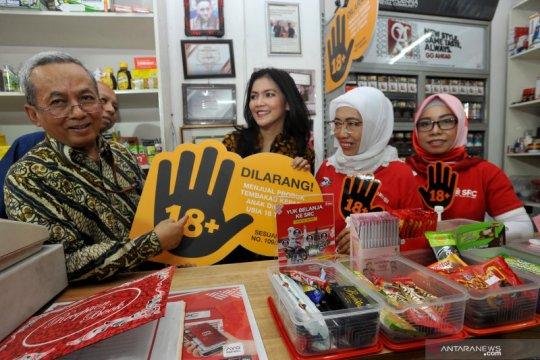 Sosialisasi Pencegahan Akses Pembelian Rokok oleh Anak-anak