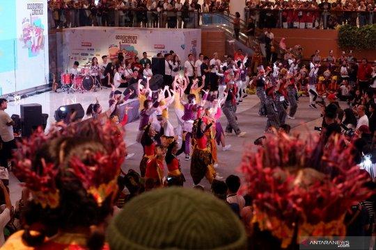 Gaungkan tari tradisional pada ajang Indonesia menari