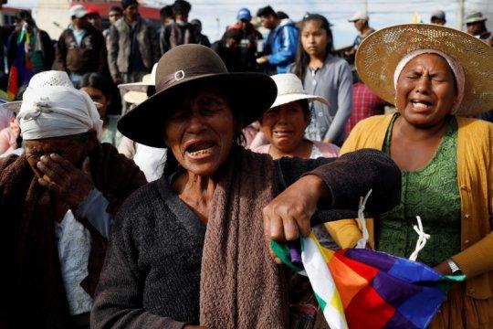 Korban jiwa dalam kerusuhan di Bolivia jadi 23