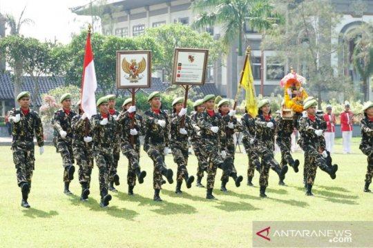 Napak Tilas I Gusti Ngurah Rai tiba di Badung