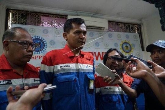 Pernyataan sikap Serikat Pekerja Pertamina Patra Wijayakusuma Page 1 Small