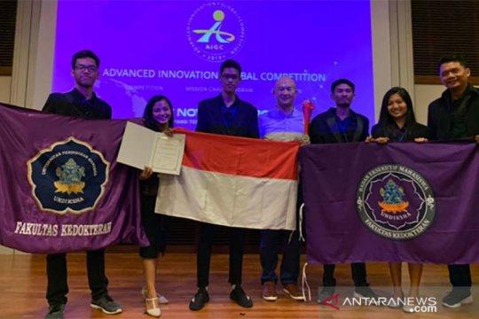 """FK Undiksha raih medali perak """"AIG Competition"""" di Singapura"""