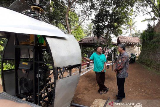 Lapan berbagi ilmu dengan pembuat helikopter dari Sukabumi