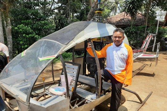 Pembuat helikopter amatir Sukabumi ingin lanjutkan pembuatan pesawat