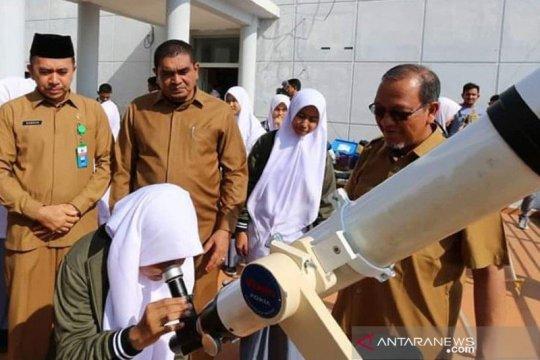 Gerhana matahari total  terlihat di Simeulue dan Aceh Singkil