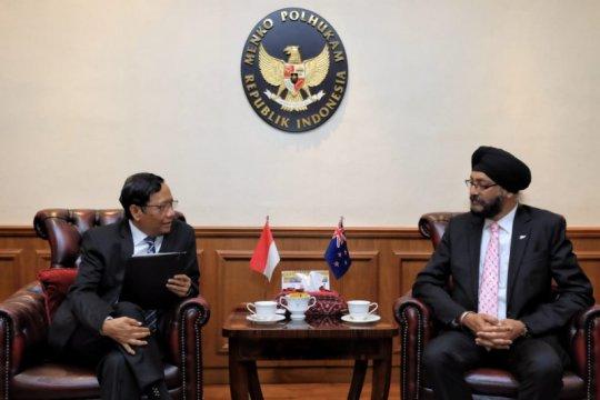 Anggota Parlemen Selandia Baru-Mahfud MD bahas soal Papua dan HAM