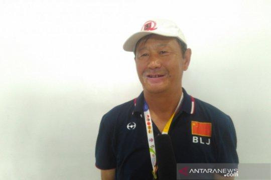 Pelatih tim pelajar China tidak terbebani oleh suporter Indonesia