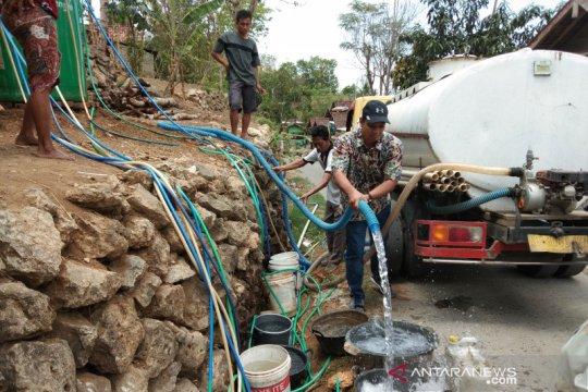 Warga pedukuhan Kalidadap Bantul masih membutuhkan bantuan air bersih