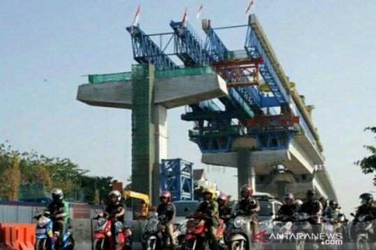 Pembangunan tol layang di Makassar rampung Juni 2020