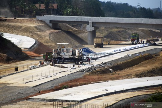 Pembangunan Tol Serang - Panimbang