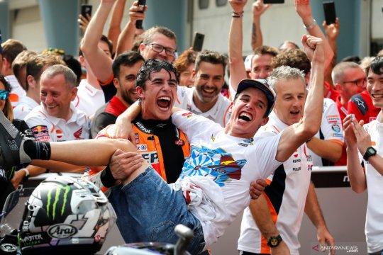 Marc Marquez senang adiknya ke MotoGP 2020
