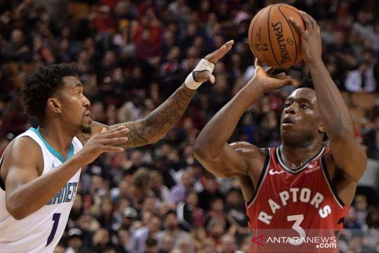 NBA: Toronto Raptors kalahkan Charlotte Hornets 132-96