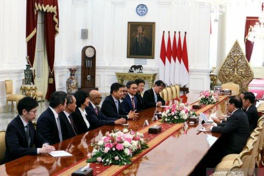 Presiden terima pimpinan Parlemen Singapura dan pengusaha Jepang