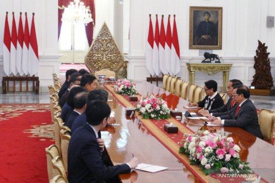 Bersama parlemen Singapura, Jokowi bahas kerja sama investasi