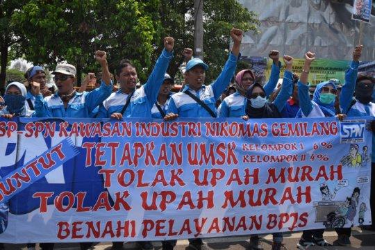 Puluhan perusahaan di Banten ajukan penangguhan UMK 2020