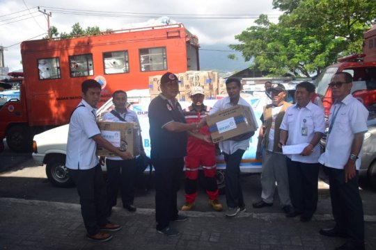 Pemprov Maluku Utara salurkan bantuan korban gempa Batang Dua