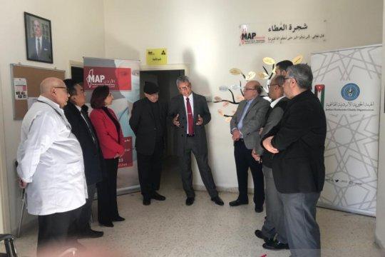 Kunjungi kamp pengungsi Palestina, Dubes RI serahkan kendaraan medis