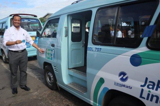 Mikrotrans Jak Lingko 80 layani rute Terminal Rawa Buaya-Rawa Kompeni