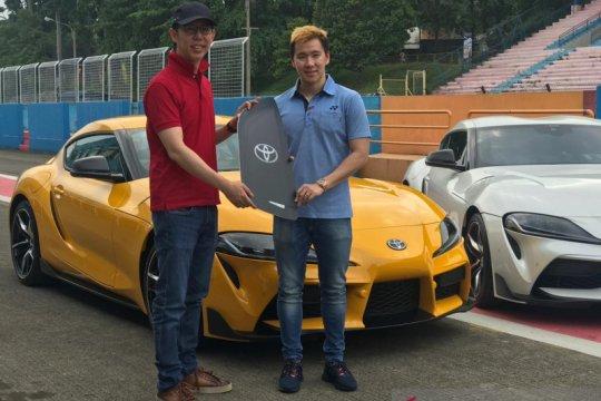 Marcus Gideon jadi pembeli pertama Toyota GR Supra edisi terbatas