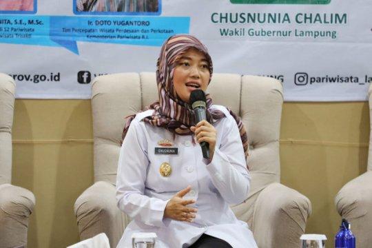 Wagub Lampung Chusnunia Chalim penuhi panggilan KPK