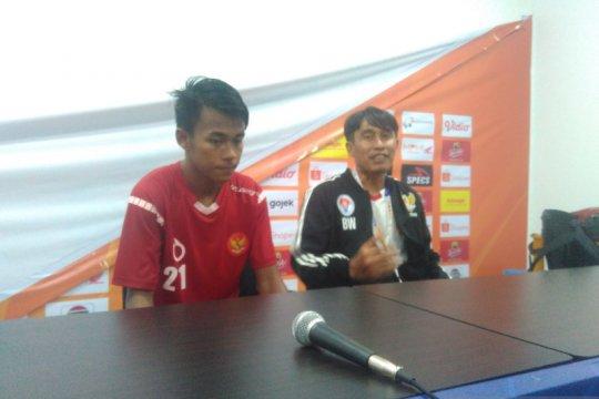 Kemenangan atas Korsel sesuai ekspektasi pelatih tim pelajar Indonesia
