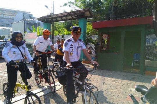 Pemrov DKI Jakarta gaungkan kegiatan Sekolah Ramah Bersepeda