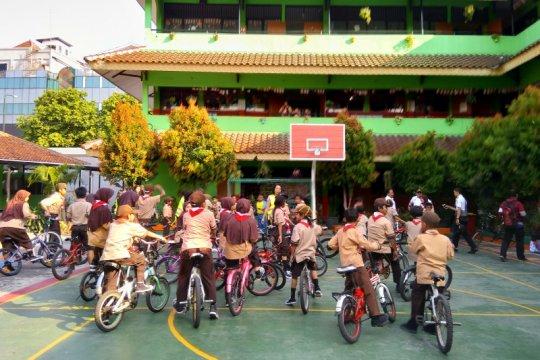 SDN 01 Gandaria Selatan jadi percontohan Sekolah Ramah Bersepeda
