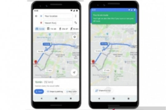 Tiga fitur terbaru Google Maps, apa saja?