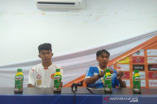 Pelatih tim pelajar Indonesia sesalkan pemainnya masih emosional