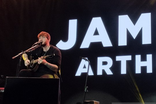Kemarin, James Arthur di Jakarta hingga nominasi Grammy 2020