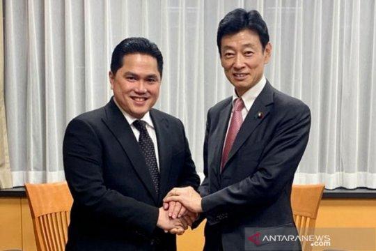 Erick Thohir bahas peningkatan kerja sama dengan Jepang