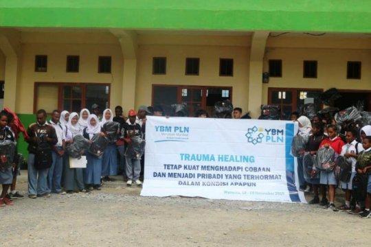 YBM PLN gelar pemulihan trauma kepada pelajar Wamena