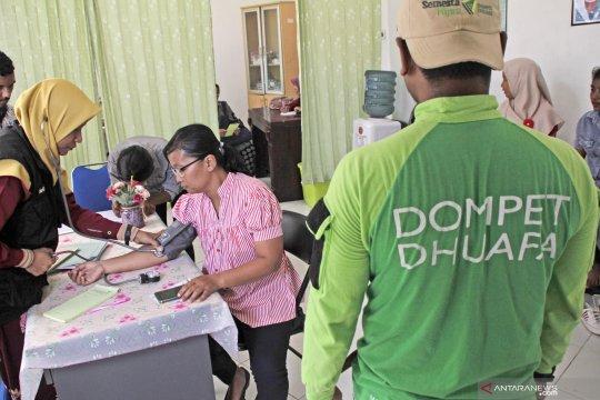 Klinik kesehatan cuma-cuma Dompet Dhuafa
