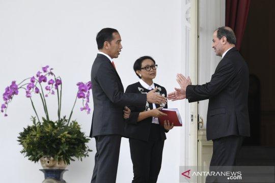 Presiden menerima Dubes LBBP