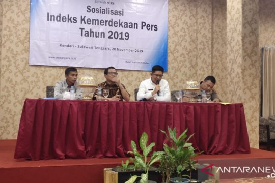 Sultra peringkat pertama indeks kemerdekaan pers 2019