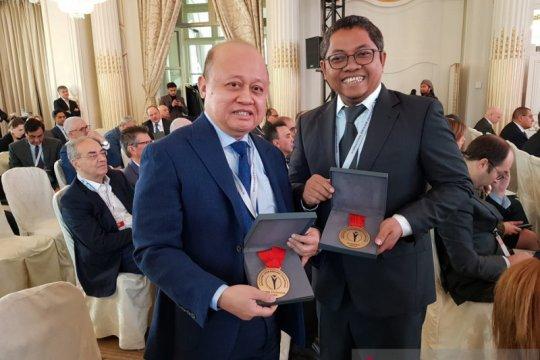 Pupuk Kaltim dan Petrokomia Gresik raih penghargaan di Prancis