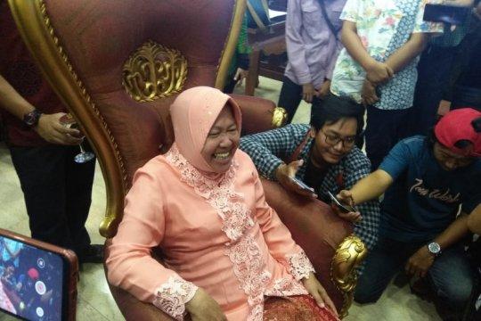 Wartawan di Surabaya berpura-pura kesurupan saat ultah Wali Kota Risma
