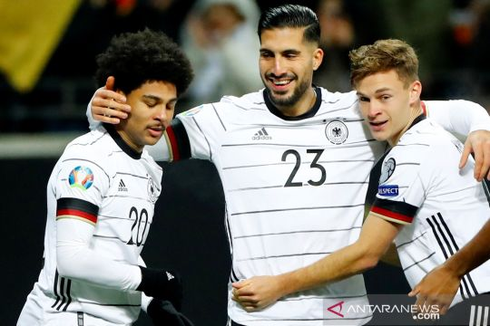 Kualifikasi Piala Eropa 2020: Serge Gnabry hat-trick,  Jerman hancurkan Irlandia Utara 6-1