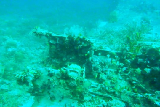 Bangkai pesawat Jepang  ditemukan di Teluk Wondama