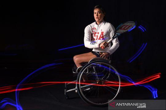 Potret atlet paralimpik AS untuk Olimpiade Tokyo 2020