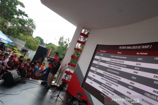 Finalis audisi beasiswa bulutangkis 2019  terpangkas jadi 71 peserta
