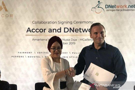 DNetwork-Accor kerja sama buka lapangan kerja penyandang disabilitas