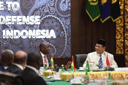 Menhan Prabowo terima Menhan Ghana, jajaki kerja sama pertahanan